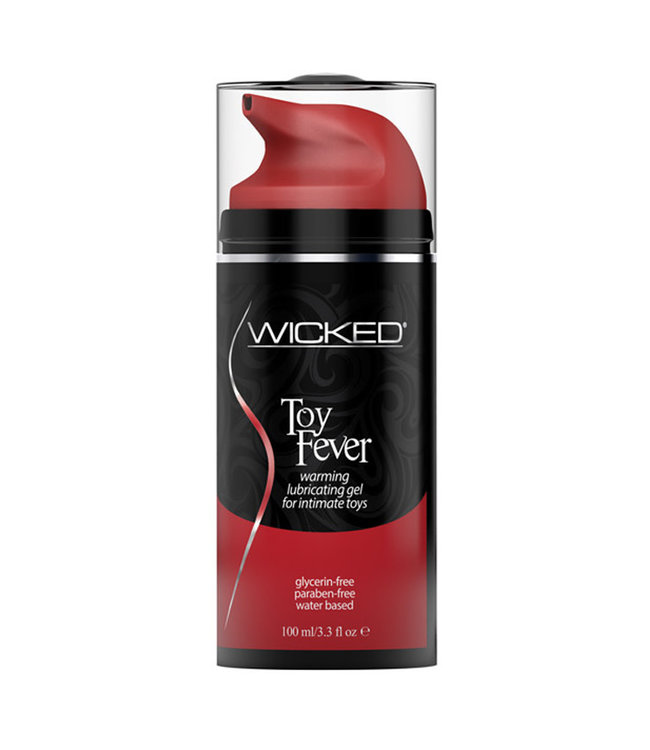 Wicked Sensual Care Toy Fever Waterbased Warming Lubricant 3.3 oz