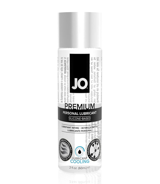 JO Premium Silicone Cooling Lubricant 2oz
