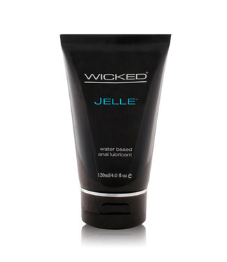 Wicked Jelle Anal Gel Lubricant 4oz