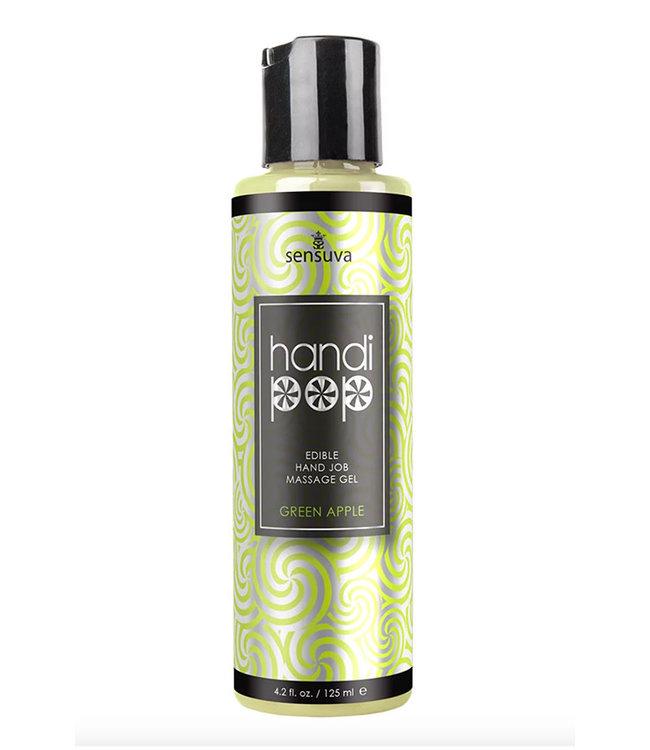 Handipop Hand Job Massage Gel Green Apple 4.2oz