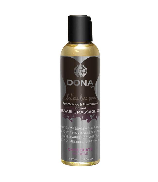 Dona Kissable Massage Oil Chocolate Mousse 4oz