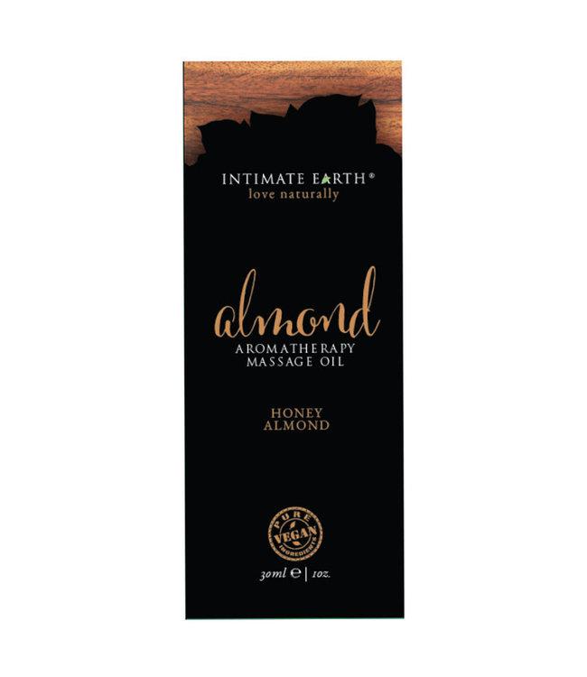 Intimate Earth Almond Massage Oil Foil 1oz