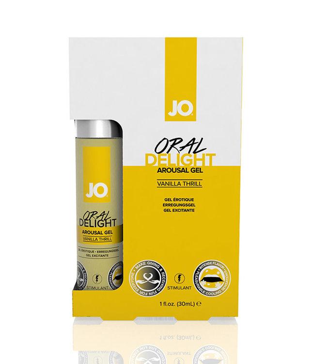JO Oral Delight Vanilla 1oz