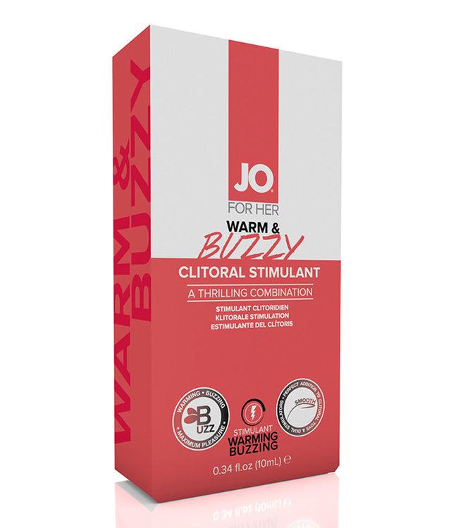 JO Warm & Buzzy Original Stimulant  0.34oz