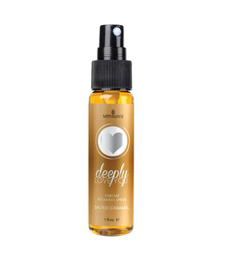Deeply Love You Throat Relaxing Spray Salted Caramel 1oz