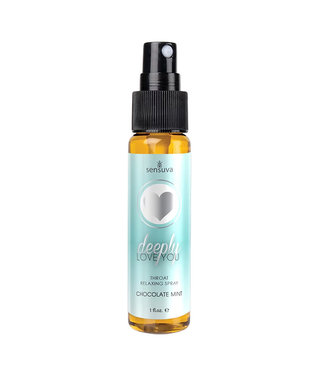 Deeply Love You Throat Relaxing Spray Chocolate Mint 1oz