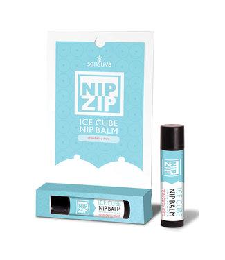 Nip Zip Ice Cube Nip Balm-Strawberry Mint