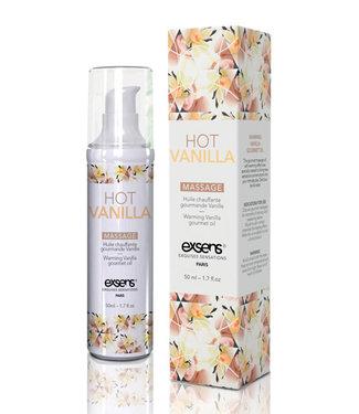 EXSENS of Paris Warming Massage Oil Hot Vanilla 1.7oz