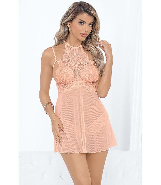 Cherilyn Peach Babydoll 39592