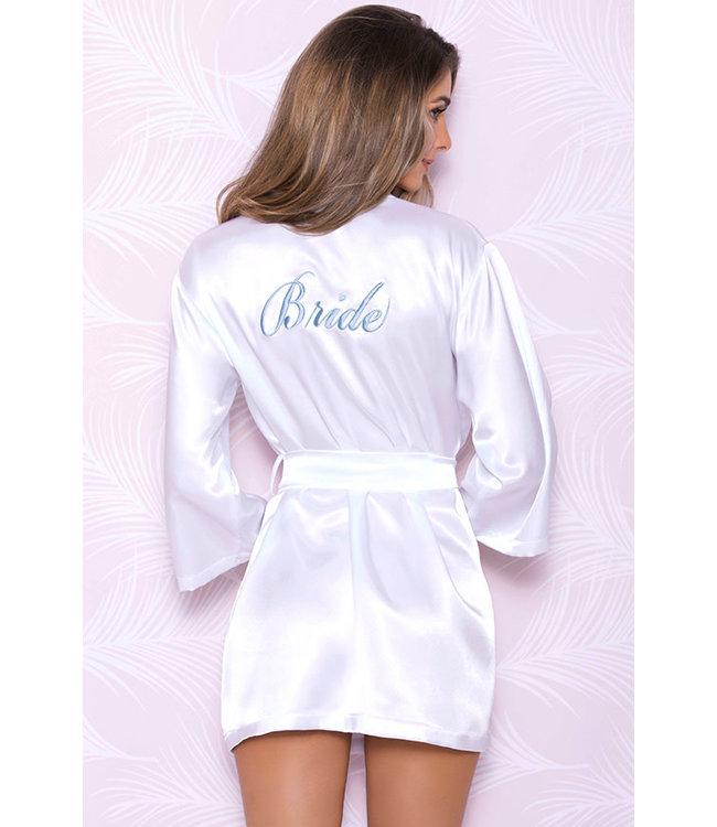 "White ""Bride"" Robe 7847"