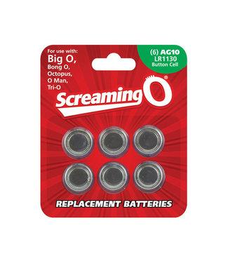 Screaming O AG10 Batteries