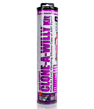 Clone-A-Willy Kit Vibrating Neon Purple