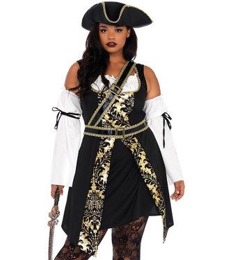 Black Sea Buccaneer Plus Halloween Costume 85563X