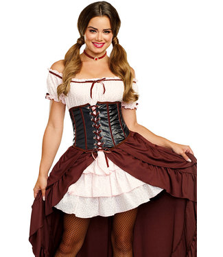 Saloon Gal Halloween Costume 11134