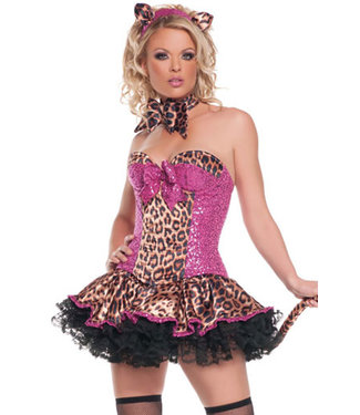 Sexy Kitty Costume T1049
