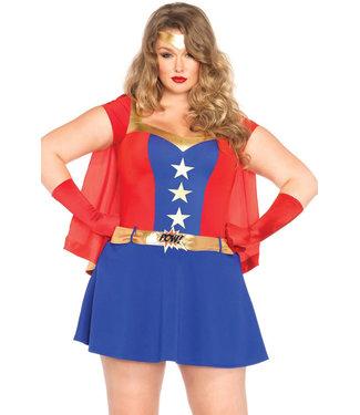 Comic Girl Plus Costume 85432X