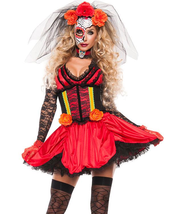 Sexy Diva Of Dead Costume S5182