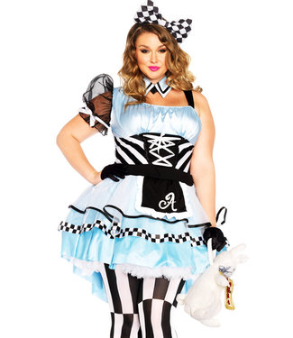 Psychedelic Alice Plus Costume 85225X