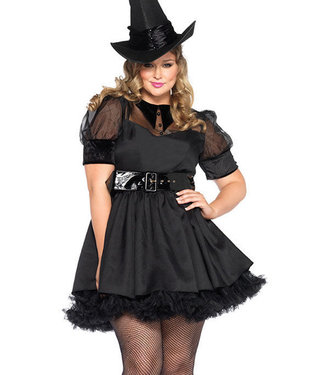 Sexy Plus Bewitched Costume 85238X