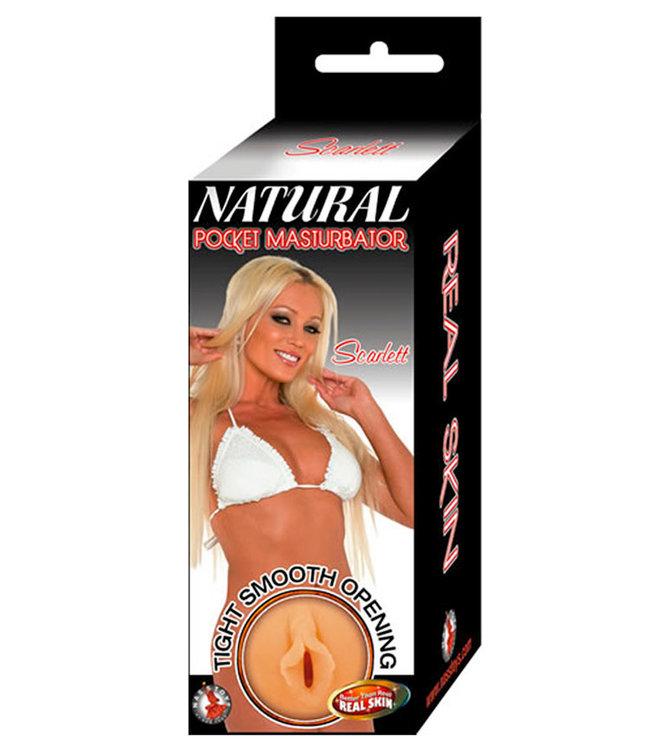 Natural Pocket Scarlett Flesh