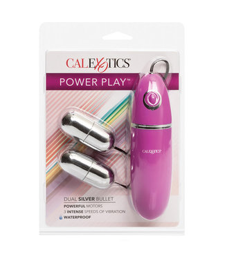 Power Play Dual Bullet Silver