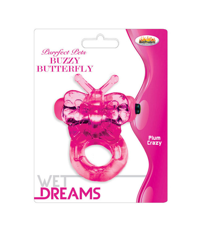 Wet Dreams Purrfect Pet Buzzy Butterfly Magenta