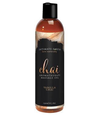 Intimate Earth Chai Massage Oil 8oz
