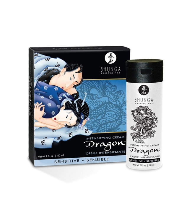 Shunga Dragon Sensitive Cream 2oz