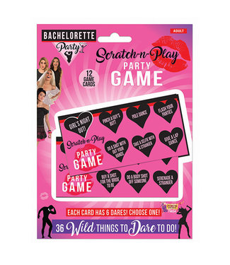 Bachelorette Party Scratch N Play Party Game