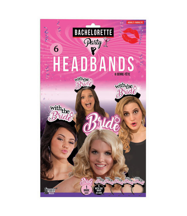 Bachelorette Party Bride & With the Bride Headbands