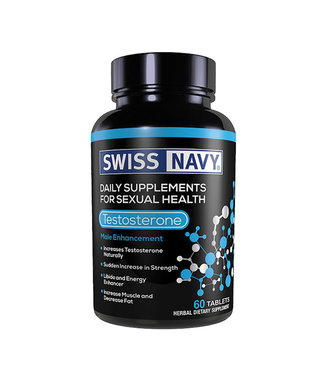 Swiss Navy Testosterone 60ct