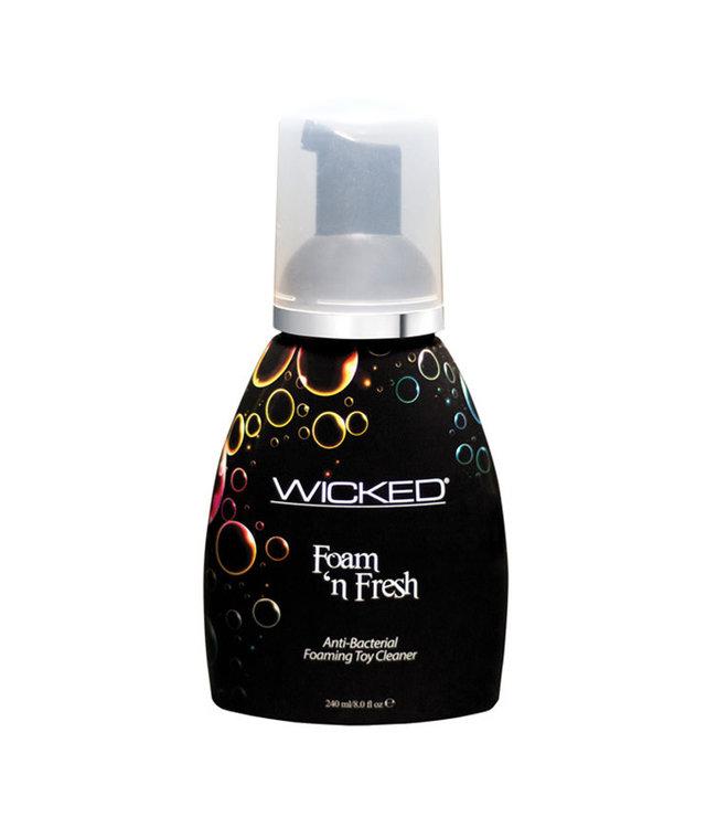 Wicked Sensual Care Foam N Fresh Anti-Bacterial Foaming Toy Cleaner 8oz