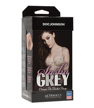 Sasha Grey Ultraskyn Cream Pie Pocket Pussy