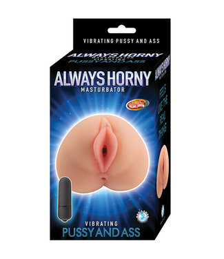 Always Horny Masturbator Vibrating Pussy and Ass Flesh