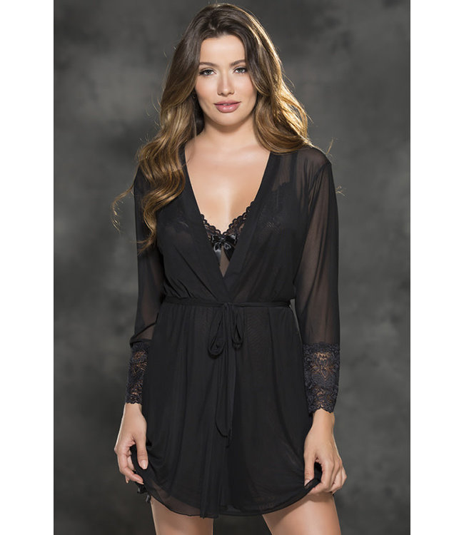 Savannah Black Robe 31411