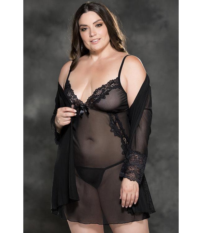 Savannah Black Robe X31411