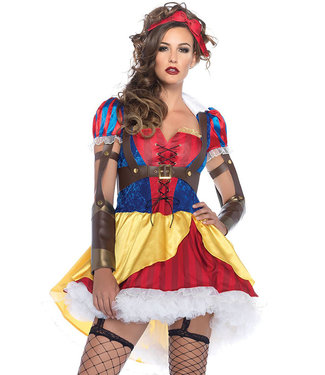 Rebel Snow Queen Halloween Costume 85430