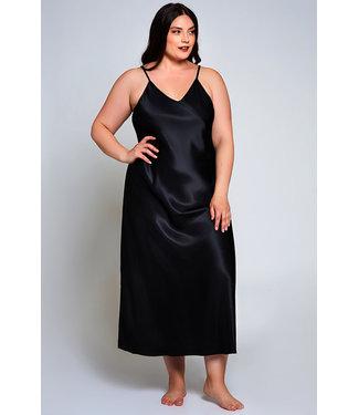 Kealy Plus Black Long Gown 78025X