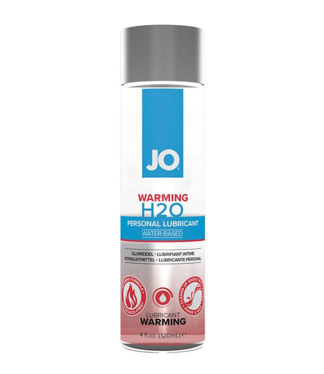 JO H2O Warming Lubricant Water Based 4oz