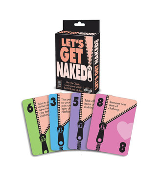 Lets Get Naked Party Card Game