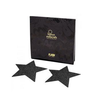 Bijoux Indiscrets Flash Pastie Star Black