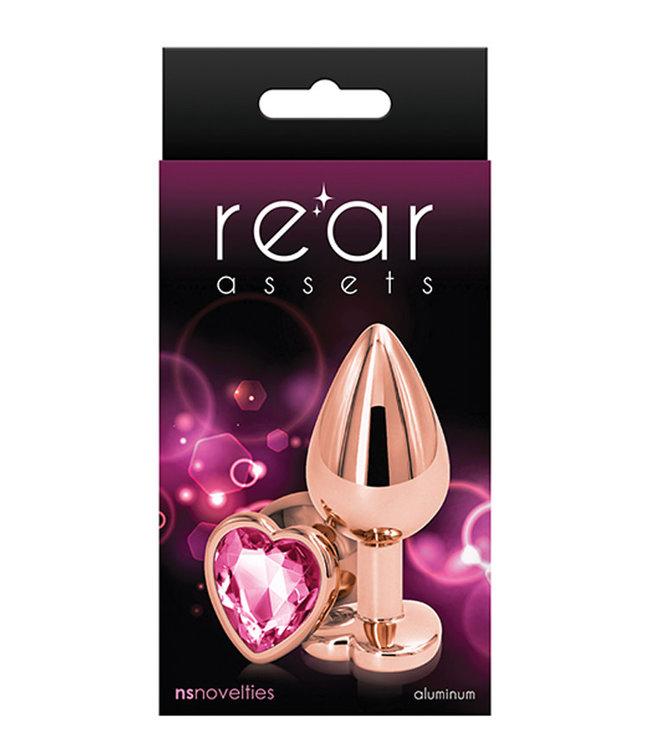 Rear Assets Rose Gold Heart Medium Pink