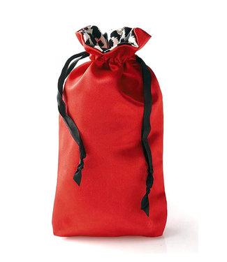Sugar Sak Anti-Bacterial Red Toy Bag Large