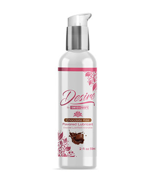 Swiss Navy Desire Chocolate Kiss Flavored Lubricant 2oz
