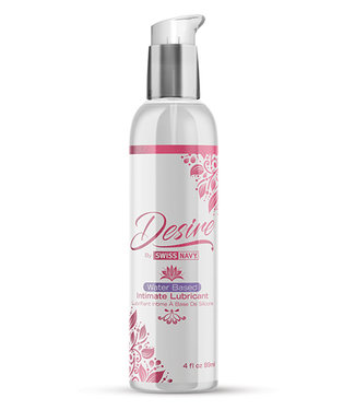 Swiss Navy Desire Water Based Intimate Lubricant 4oz