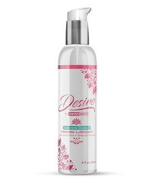 Swiss Navy Desire Silicone Based Intimate Lubricant 4oz