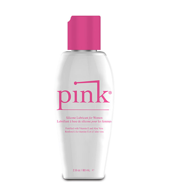 Pink Silicone Lubricant For Women 2.8oz