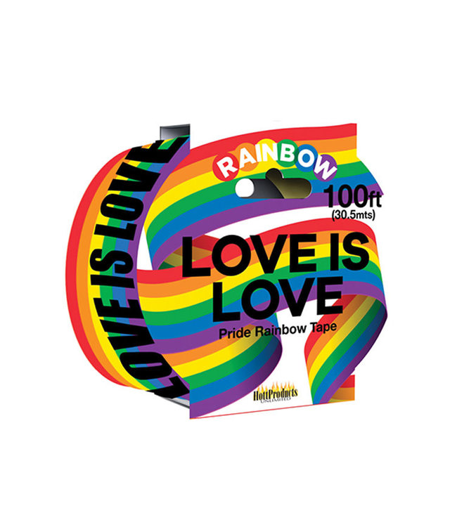 Love Is Love Rainbow  Caution Party Tape