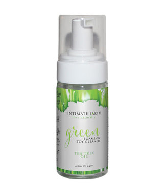 Intimate Earth Foaming Toy Cleaner Green Tea Tree Oil 3.4oz