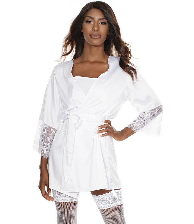 Rene White Robe 7142 One Size